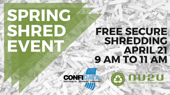 spring shred event